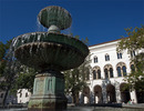 LMU fountain