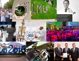 The year at LMU: A pictorial review Das Jahr 2016 in Bildern: