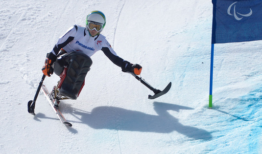 And with her fifth triumph, in the giant slalom, Anna Schaffelhuber becomes the undisputed Queen of the Winter Paralympics 2014. (Source: Allianz)