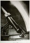 … the famous Fraunhofer Refractor. Designed by Joseph Fraunhofer, it was begun in 1826, shortly after the inventor's death. In its time, it was regarded as the best telescope in the world.