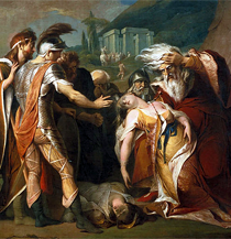 James Barry: King Lear Mourns Cordelia's Death (Ausschnitt)