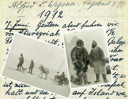 Wegener's expedition journals online