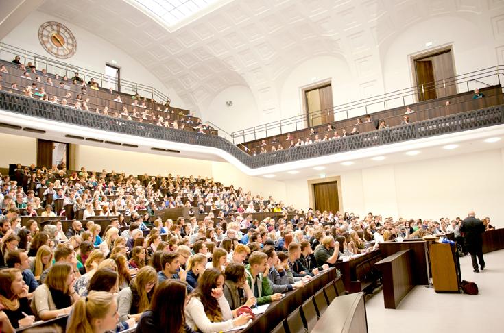 Semesterstart an der LMU - LMU München