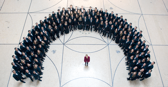 Musical life on the LMU campus has many facets, for instance – the University Choir.