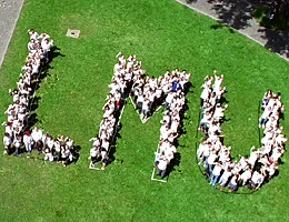 "Aktion ""We are LMU"" beim Diversity-Tag 2016 (Foto: afk tv)"