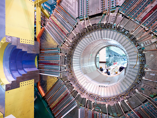 Belle detector at the High Energy Accelerator Research Organisation (KEK). Image: KEK, Japan
