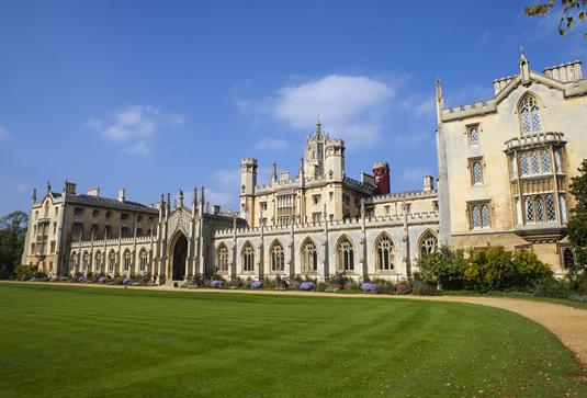 St Johns College In Cambridge Foto Chrisdorney Fotolia