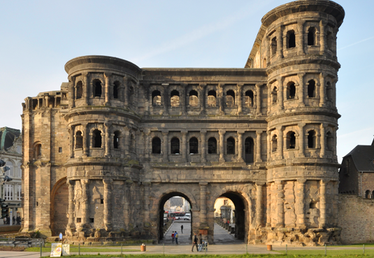 The Porta Nigra is regarded as one of the best preserved Roman monuments found north of the Alps. (Photo: Rheinisches Landesmuseum Trier)